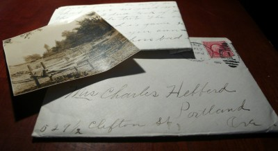Letter from 1910
