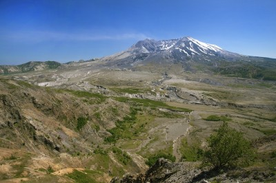 Mt. St. Helens from Johnston Ridge.